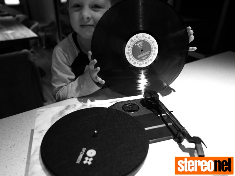 Spinbox - a record player your five-year-old can build