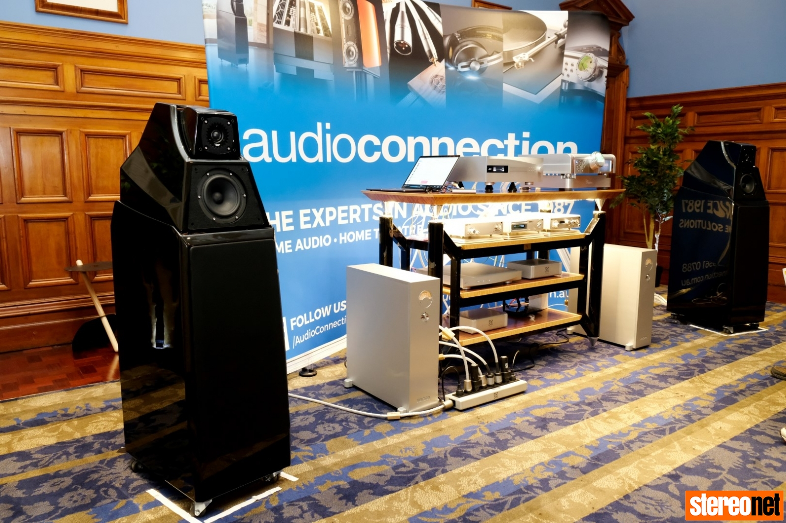 Audio Connection & Nordost at Sydney HiFi Show