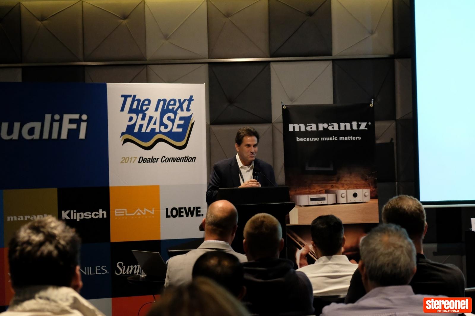 QualiFi CEO, Michael Henriksen, 2017 Dealer Convention, Queensland.