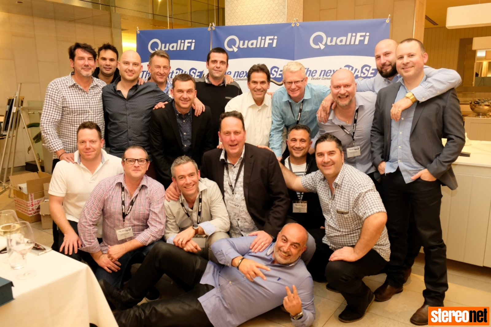 QualiFi Staff, Dealer Convention, Surfers Paradise, QLD 2017
