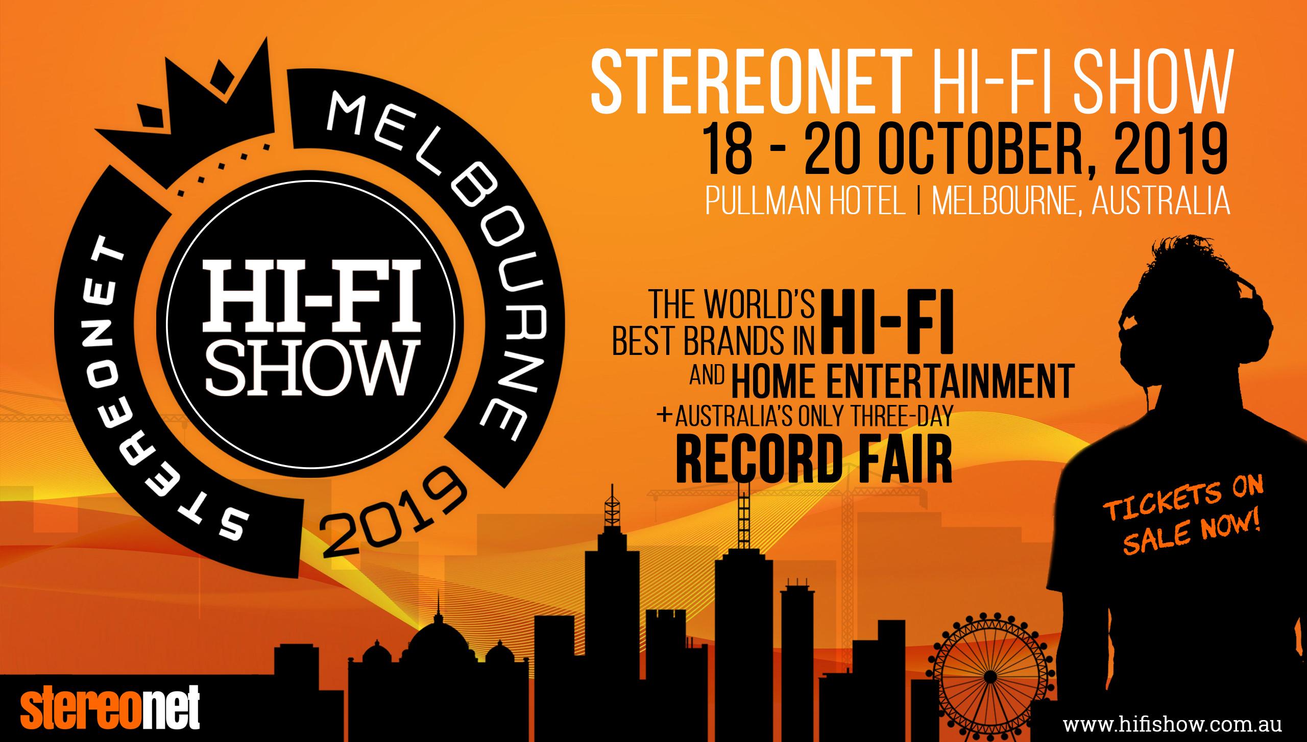 2019 Melbourne StereoNET Hi-FI Show, Pullman Mercure Hotel