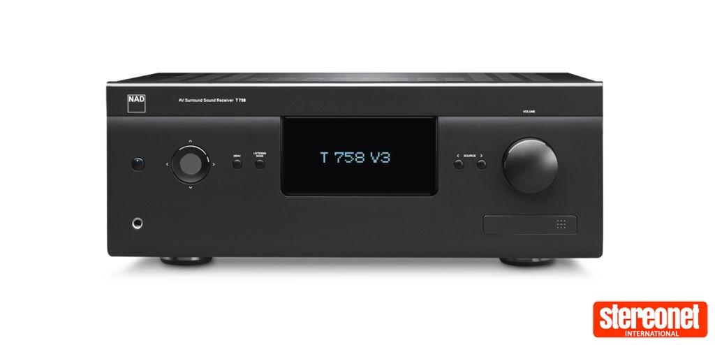 NAD T 758 V3 AV Receiver