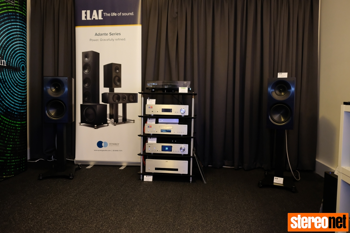 Synergy Audio Visual at Melbourne International HIFi Show