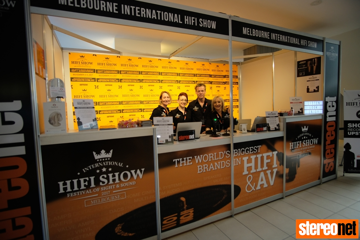 Melbourne HiFi Show Ticket Desk