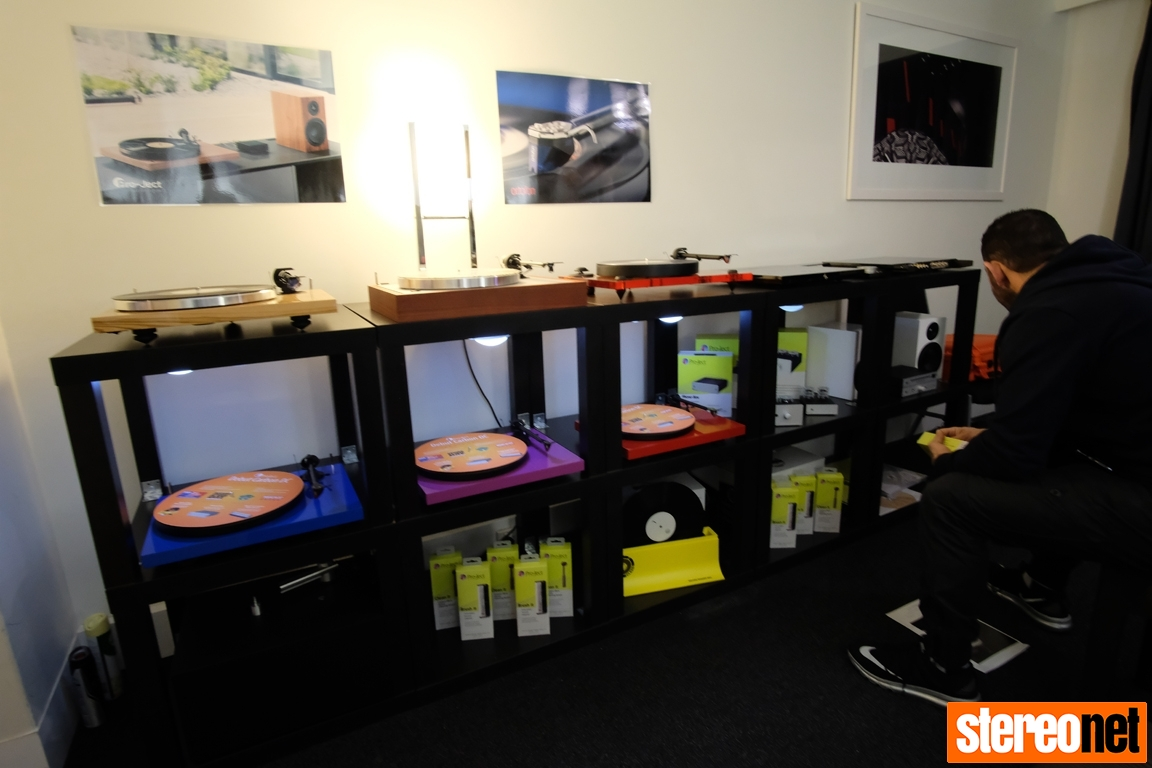 Pro-Ject at Melbourne International HiFi Show