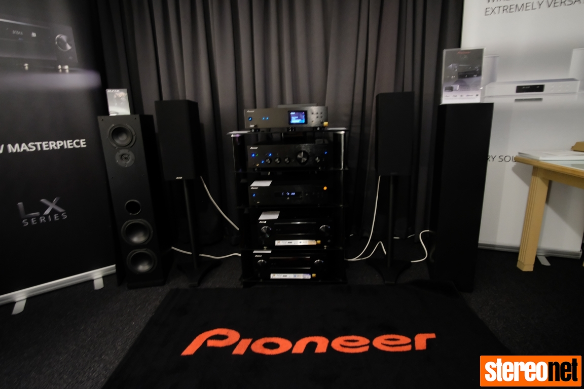 Pioneer and Powermove at the Melbourne International HiFi Show