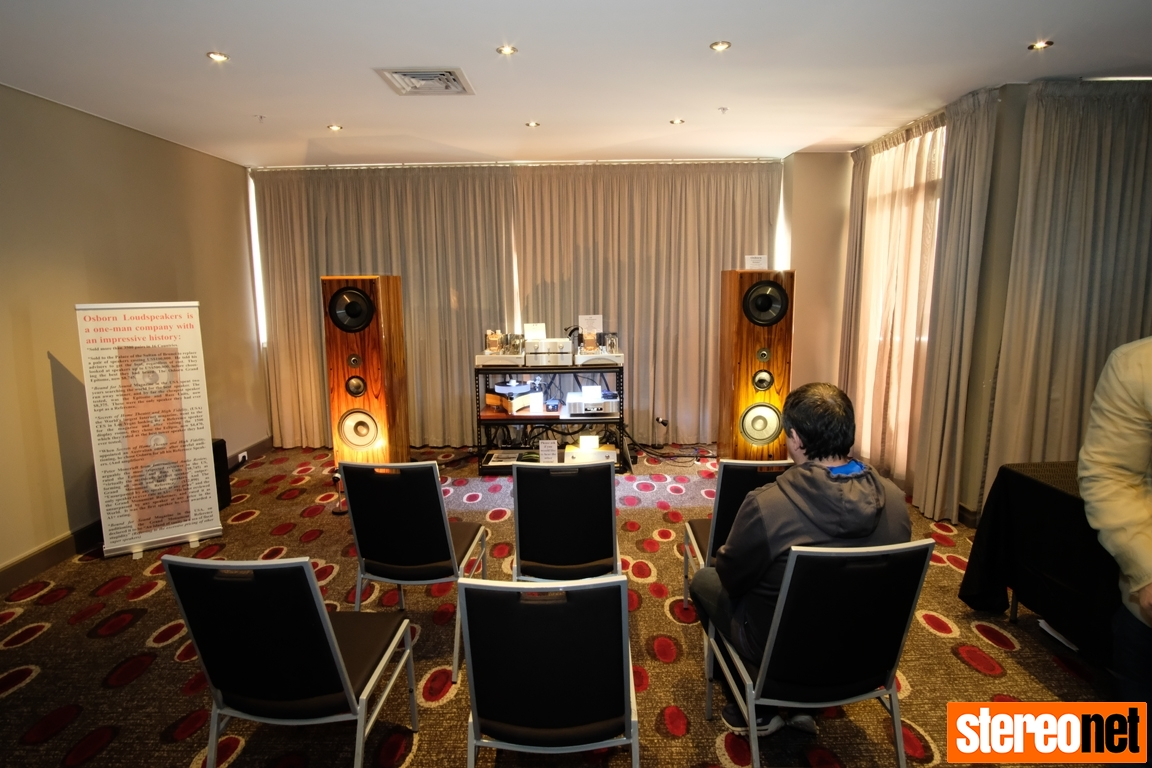 Osborn Loudspeakers at Melbourne International HiFi Show