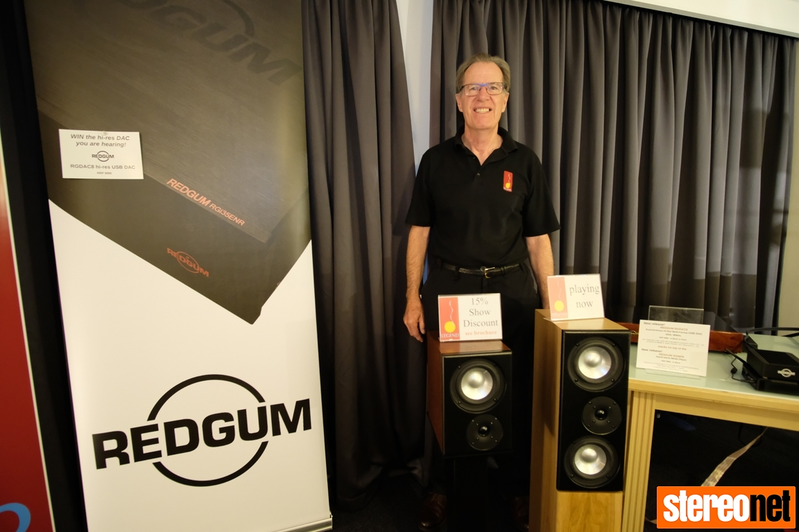 Dr Rod Crawford Melbourne International HiFi Show