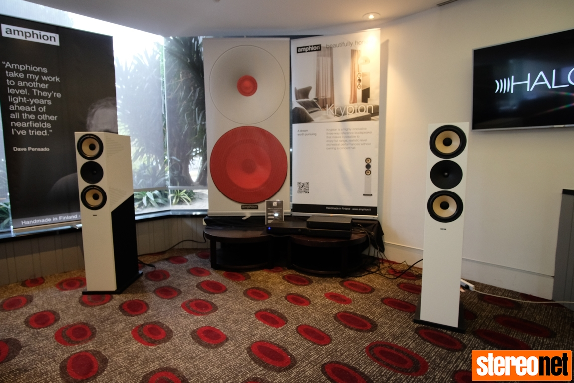 Amphion at Melbourne International HiFi Show