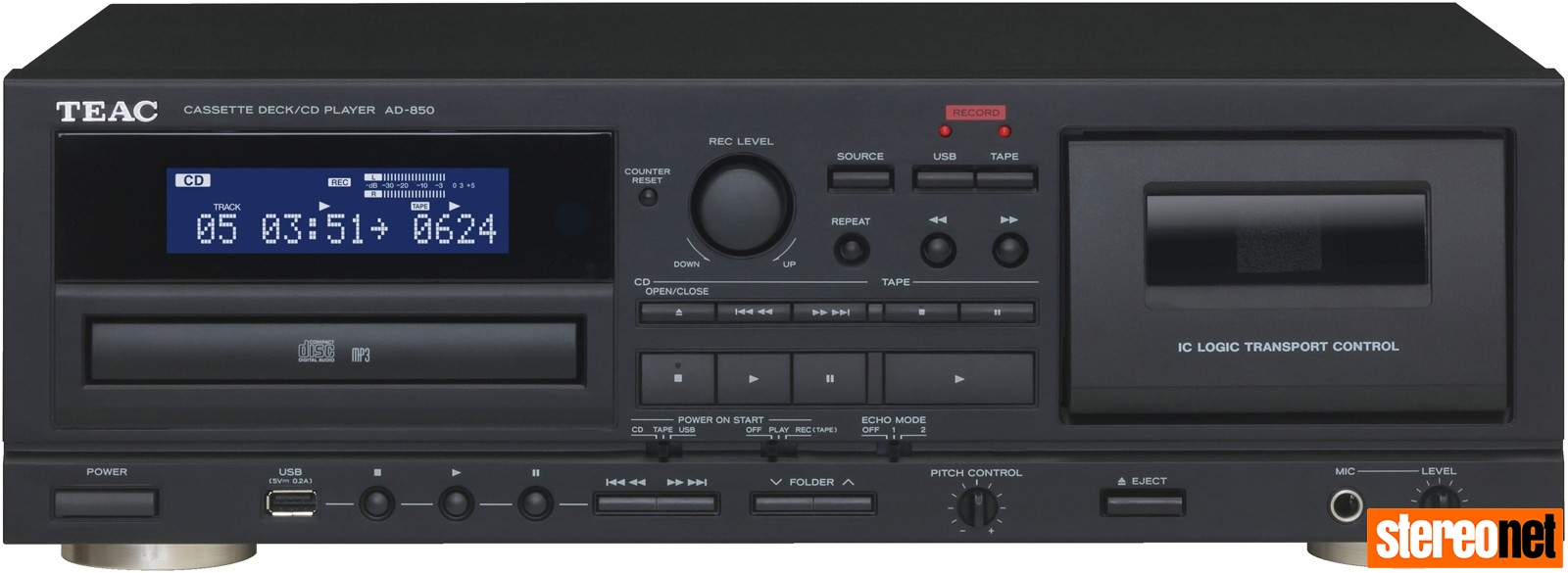 TEAC AD-850 Cassette Player