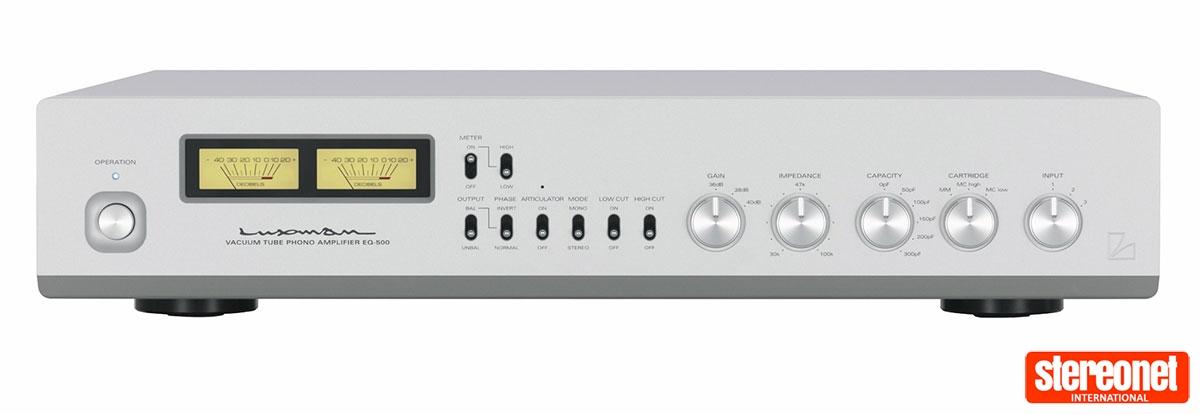 Luxman EQ-500 Phono Amplifier Review | - StereoNET Australia & New