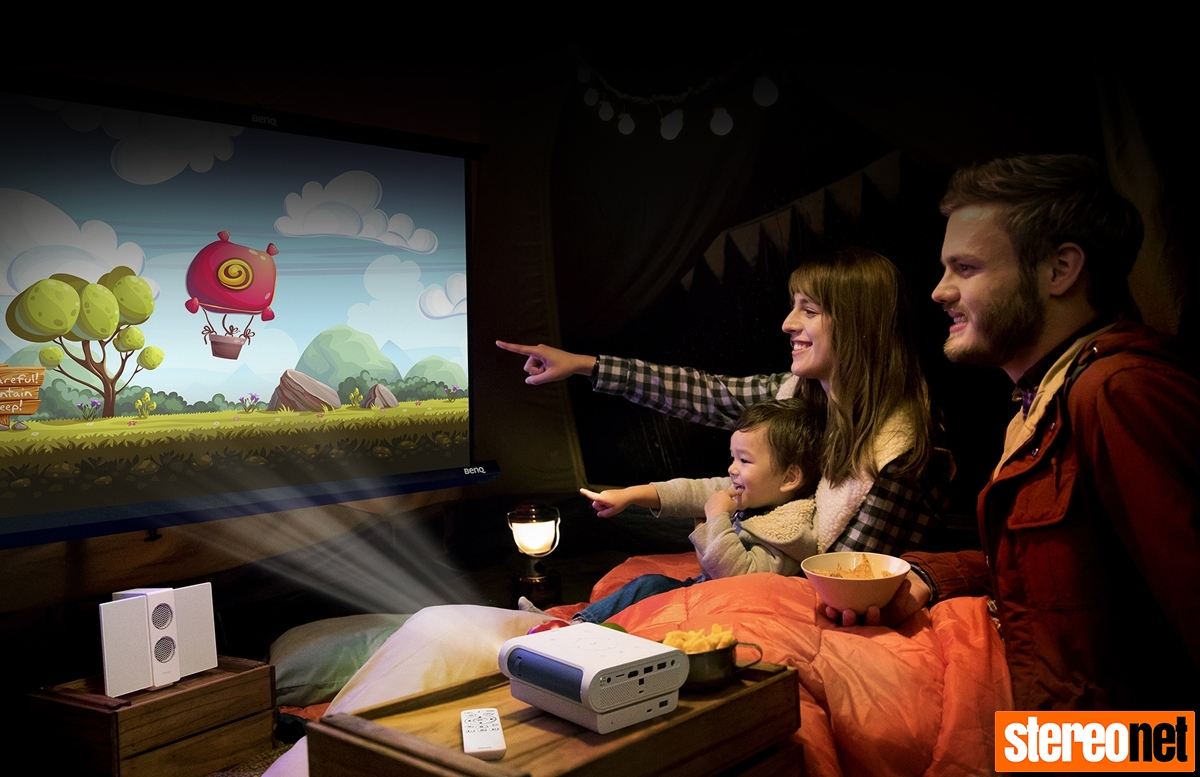 BenQ GS-1 Portable Projector Review