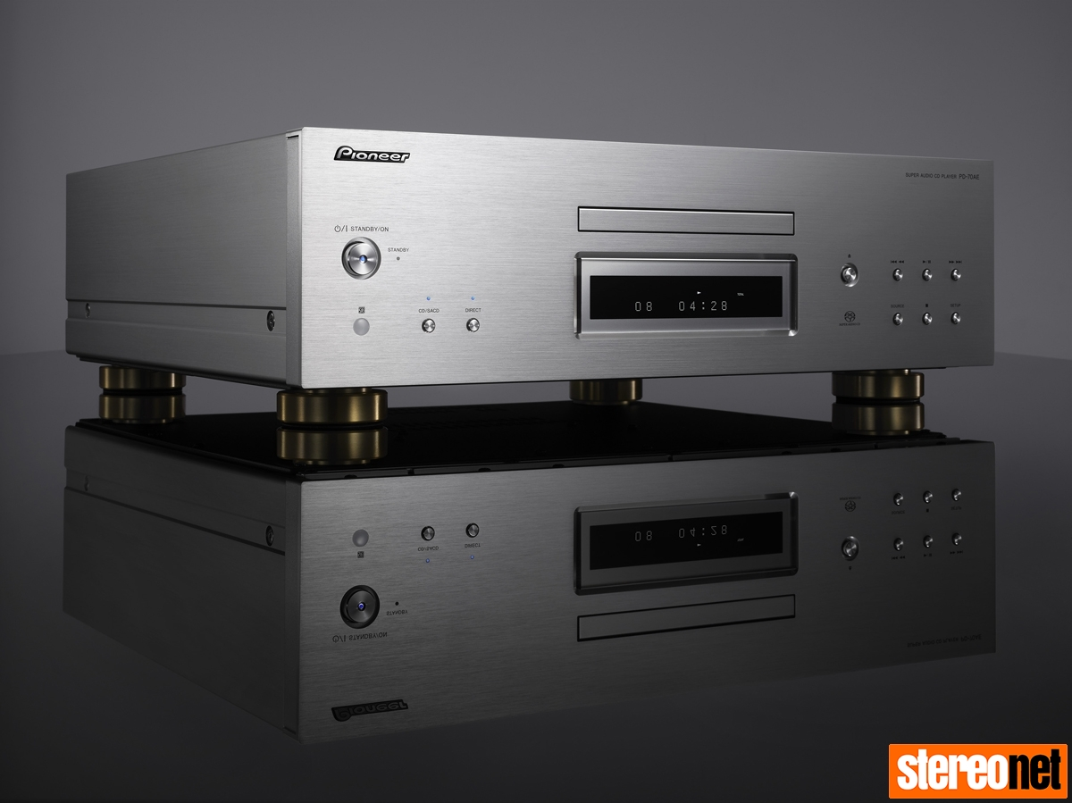 Pioneer PD-70AE Super Audio CD Player Review | - StereoNET