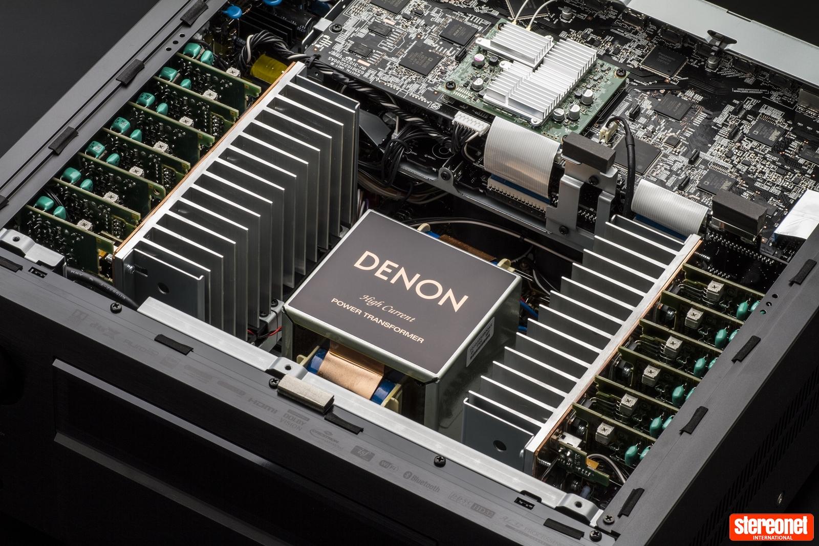 Denon AVC-X8500H 13 2 Channel AV Amplifier Review   - StereoNET