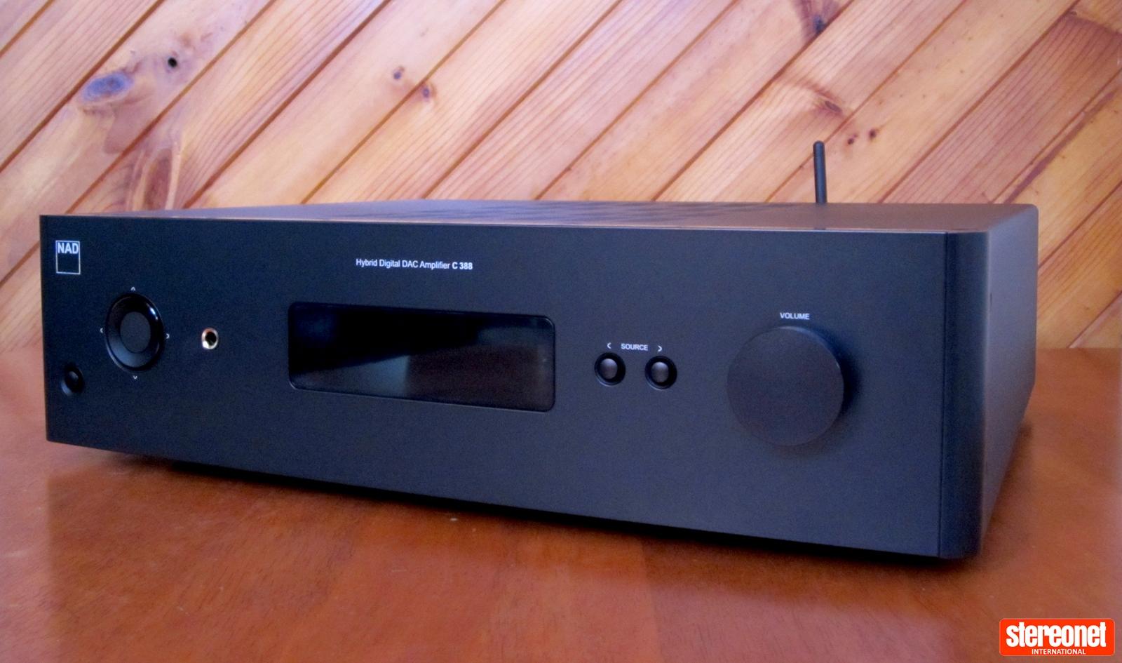 NAD Electronoics C388 Hybrid Digital DAC Amplifier Review