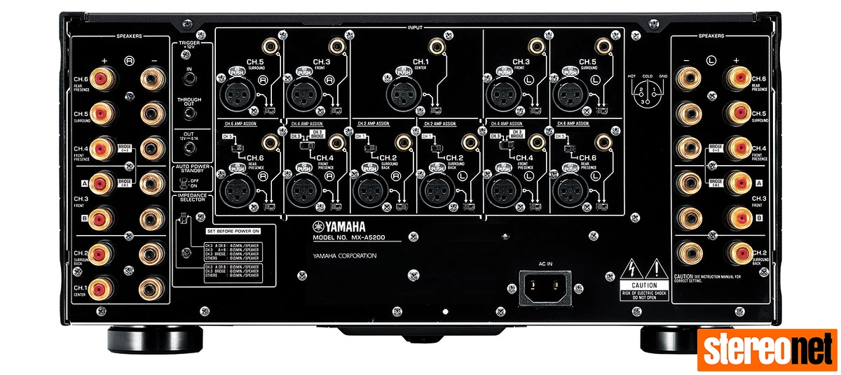 yamaha announces cx a5200 11 2 channel preamplifier and mx. Black Bedroom Furniture Sets. Home Design Ideas