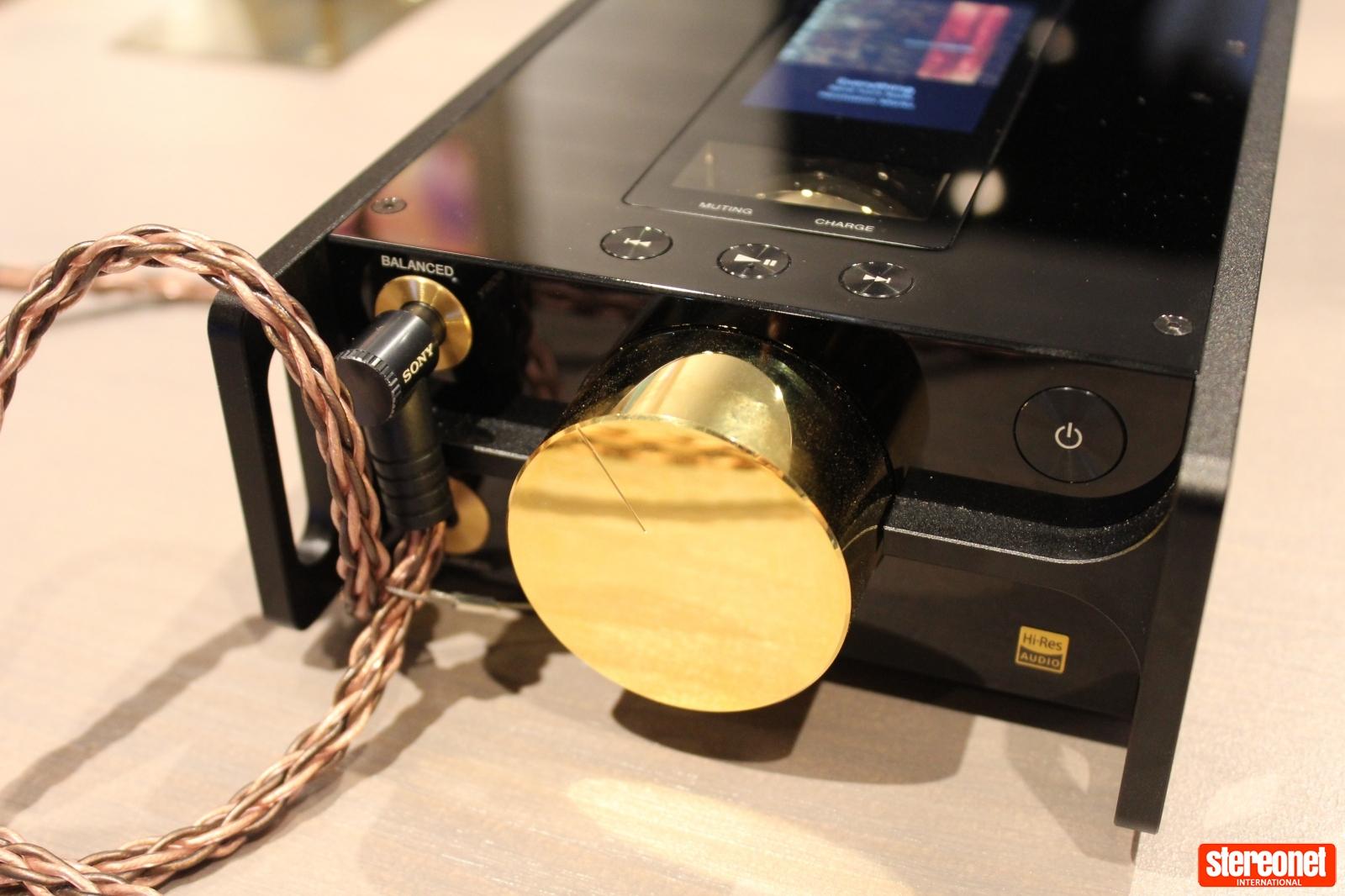 Sony DMP-Z1 Digital Audio Player Volume Knob