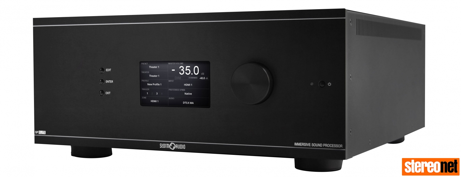 StormAudio ISP 3D.20 Elite Processor Front