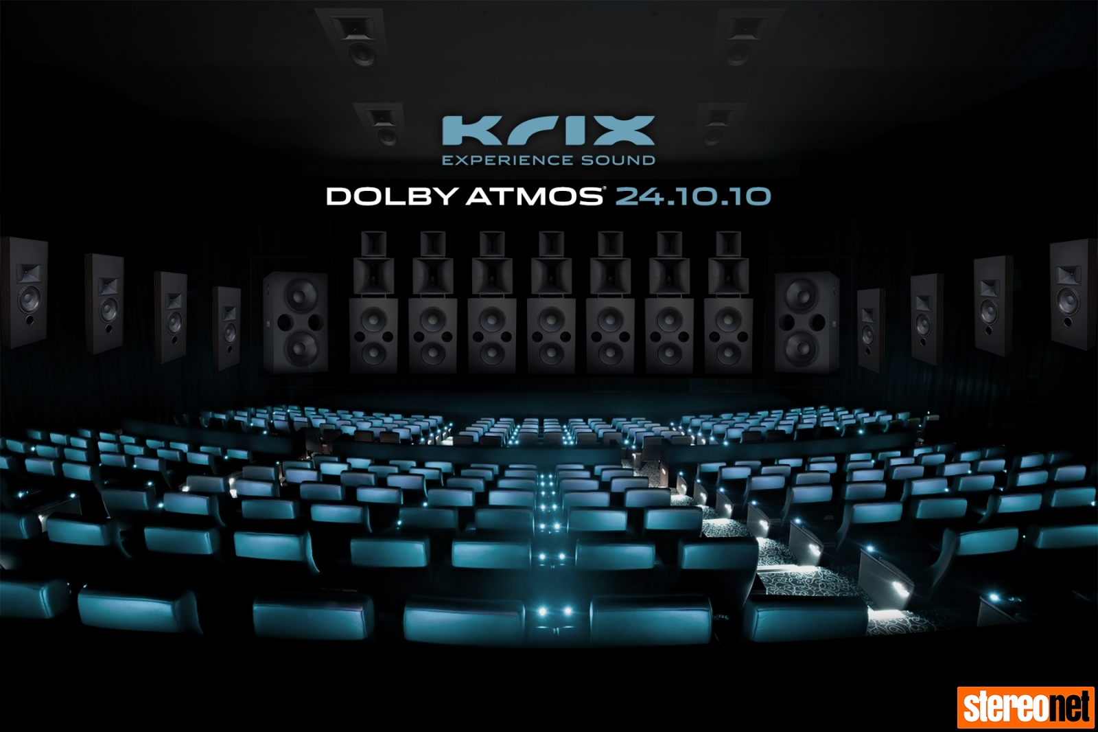 Krix Dolby Atmos 24.10.10 Demonstration Melbourne Hi-Fi Show
