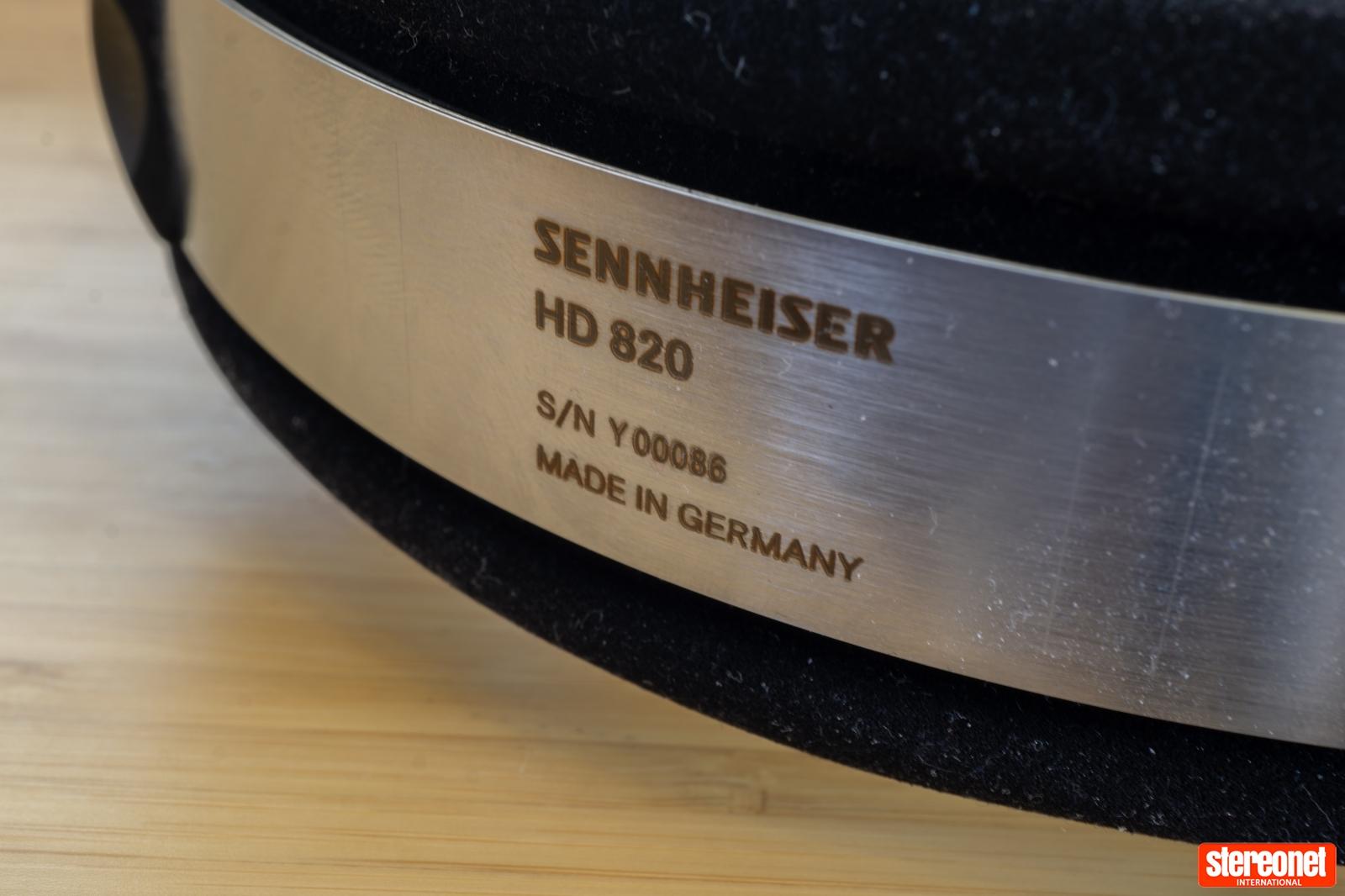 Sennheiser HD 820 Serial Number