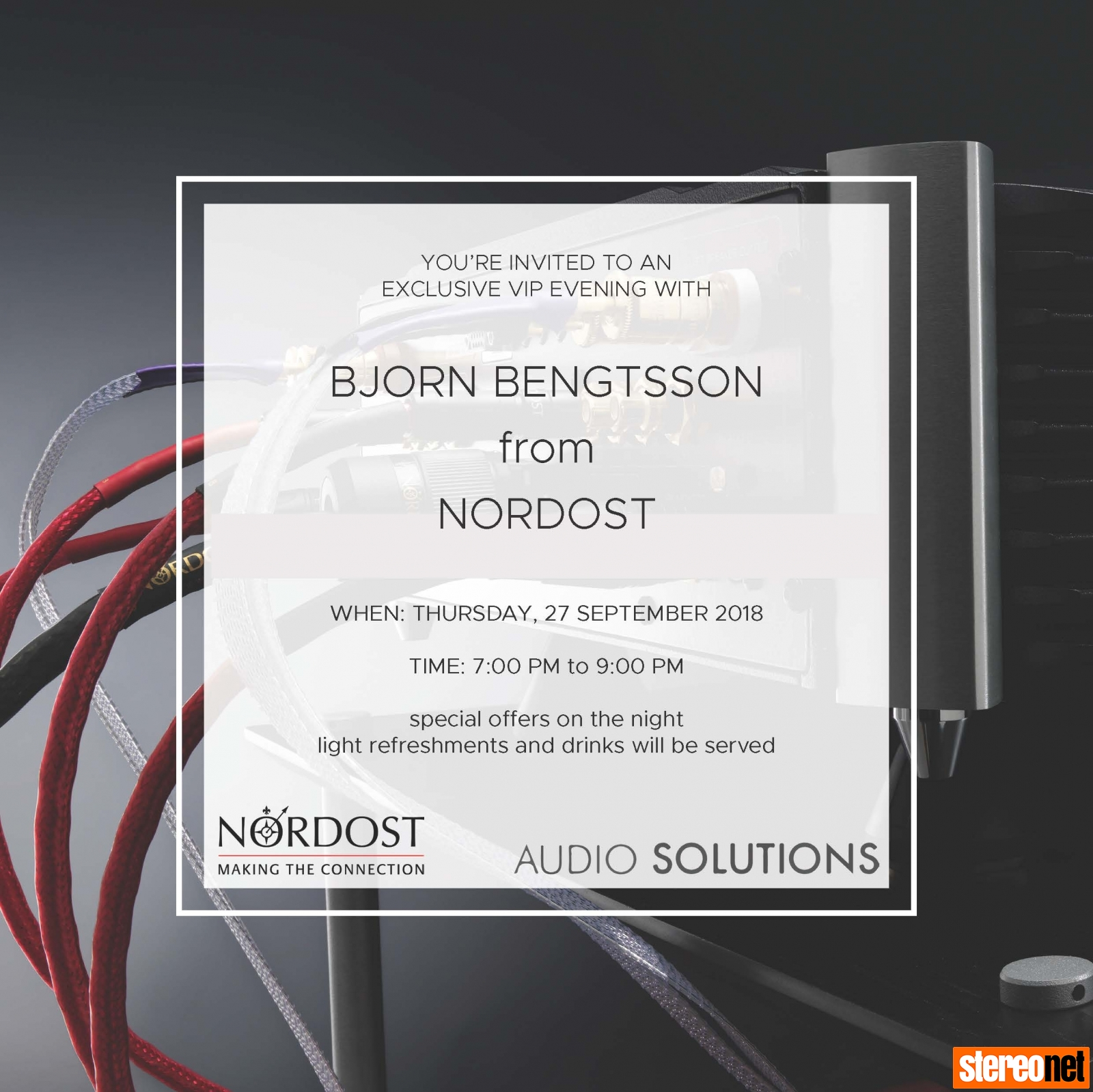 Nordost at Audio Solutions