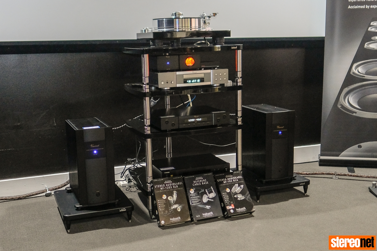 Vincent Audio SP-998 Mono Amplifiers
