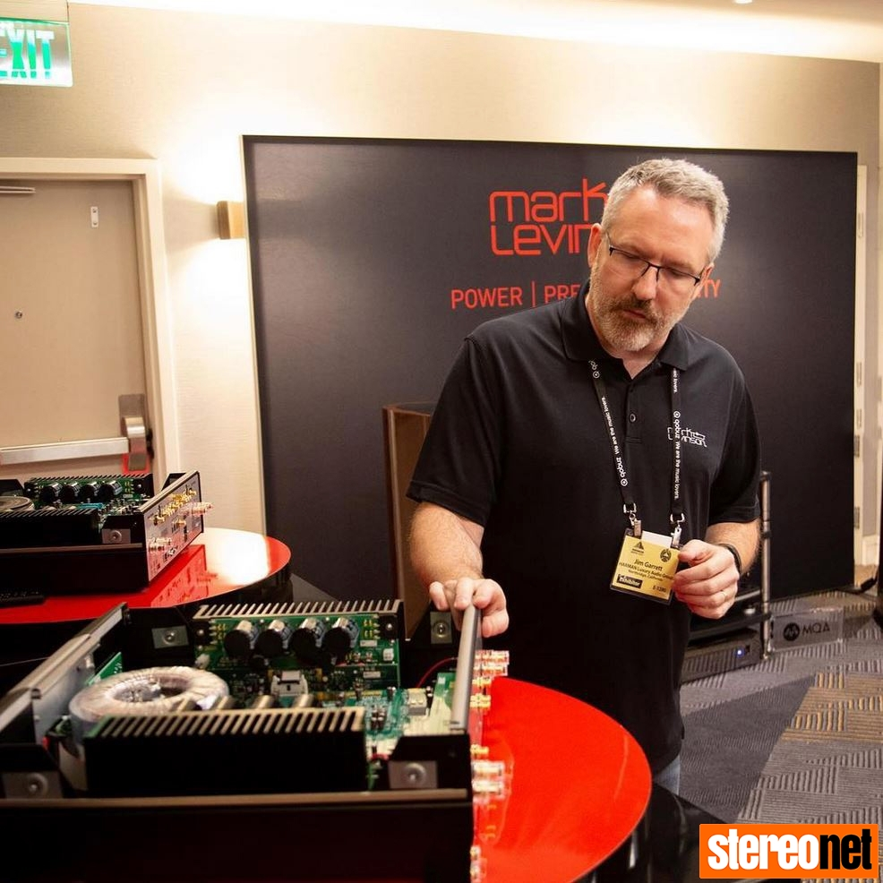 Jim Garrett Shows 5000 Series at Rocky Mountain Audio Fest