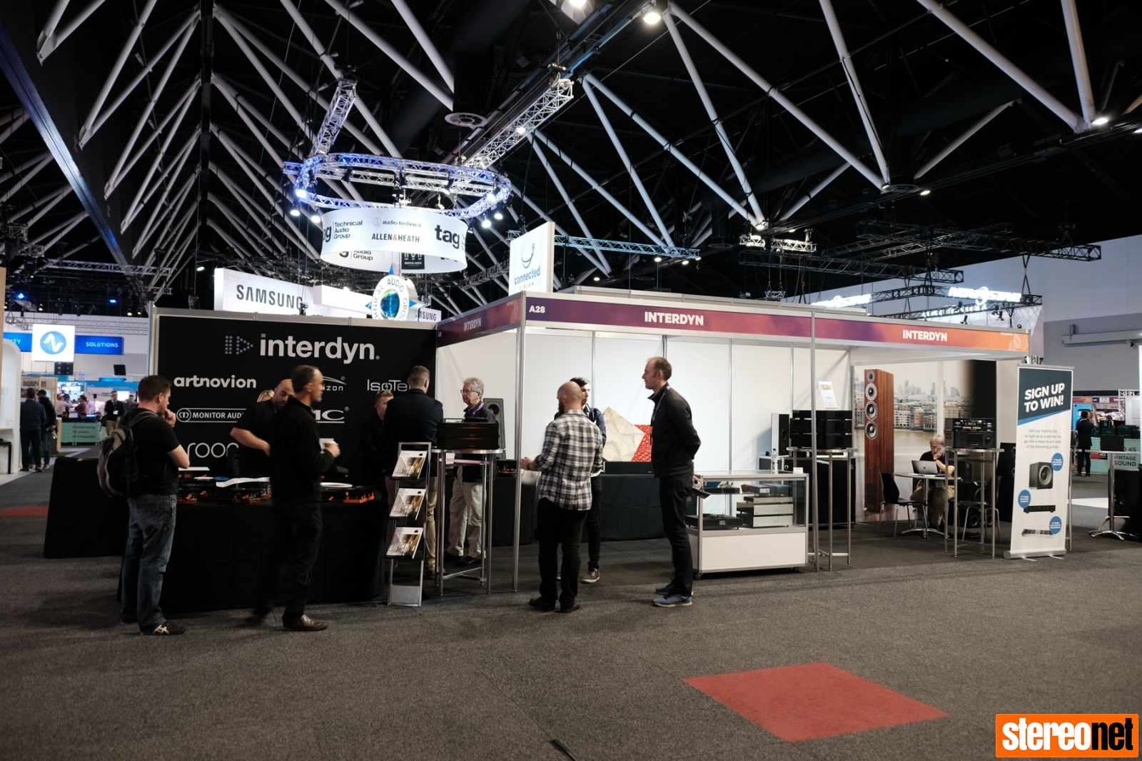 Interdyn at Integrate Trade Show, 2018