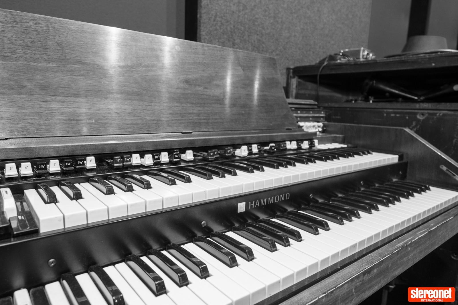 Hammond Organ, Studios 301, Sydney
