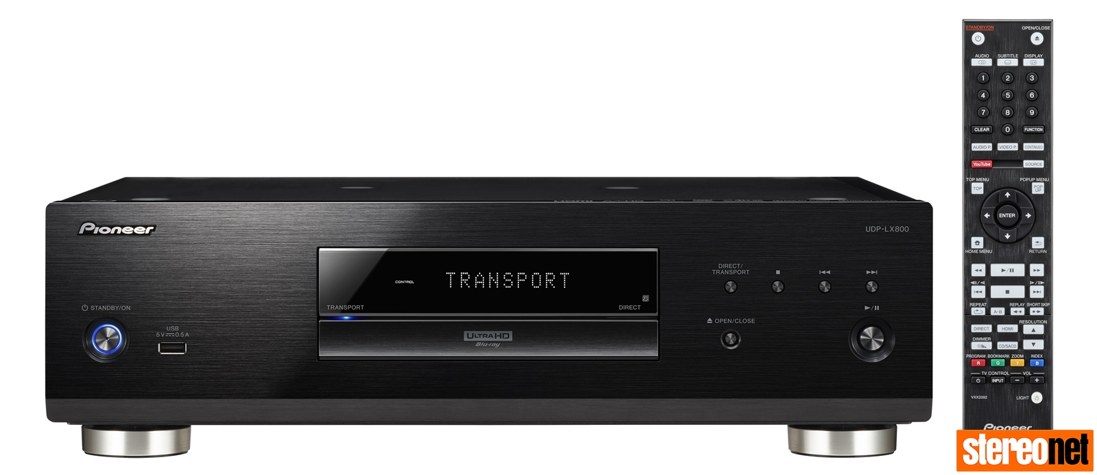 Pioneer UDP-LX800 Universal Disc Player Review | - StereoNET