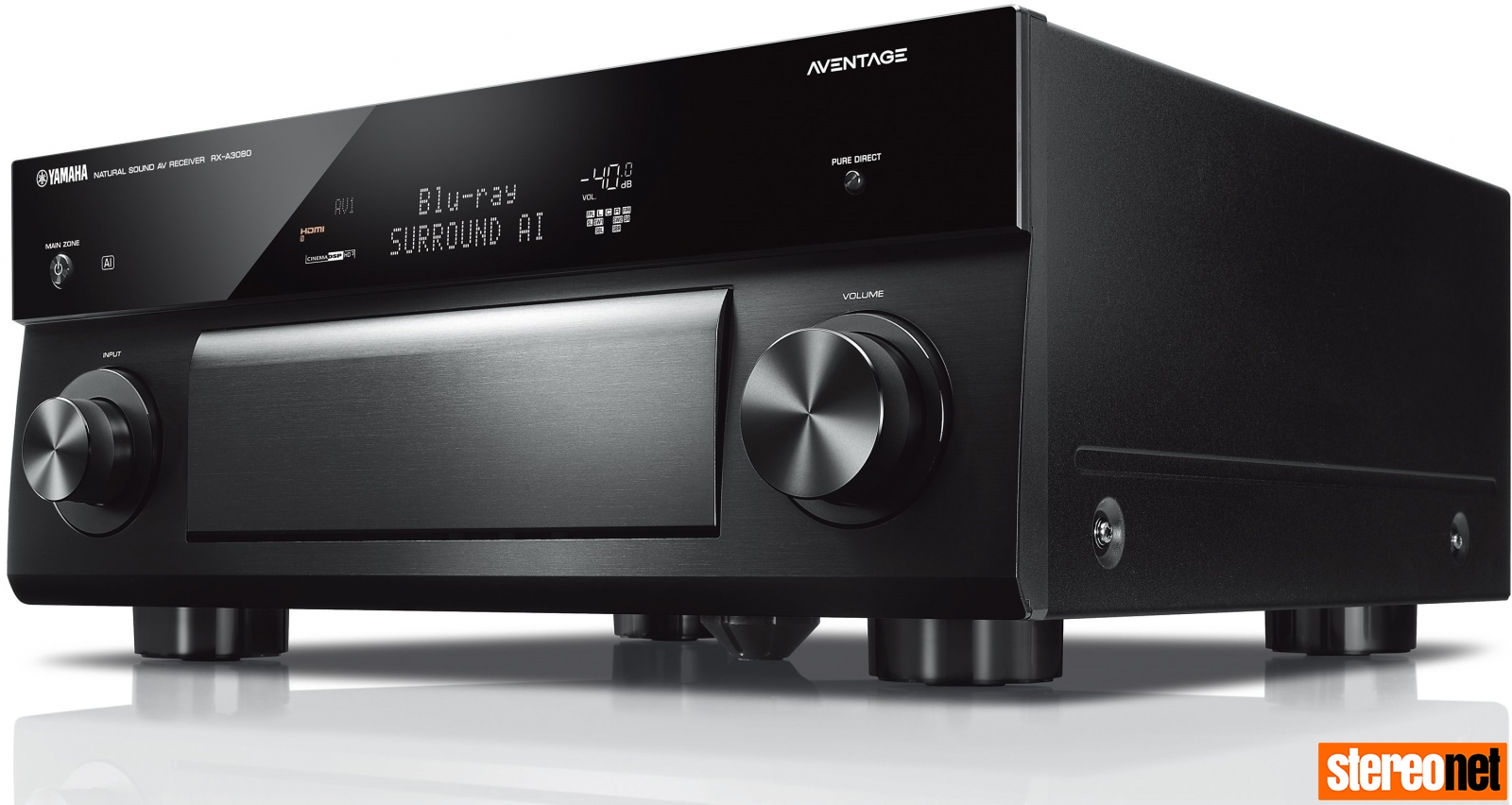 Yamaha Aventage RX-A3080 9 2 Channel AV Receiver Review