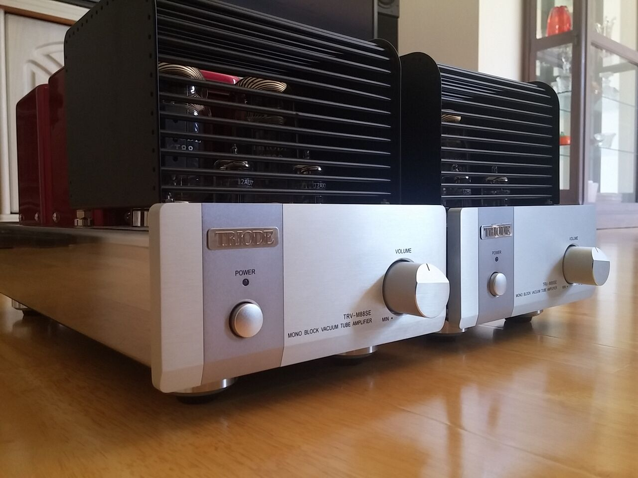 Reviewed: Triode TRV-M88SE Mono Valve Amplifiers