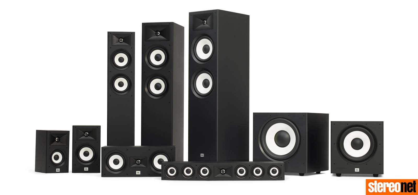 JBL Stage 5 1 Surround Sound Loudspeaker Pack Review   - StereoNET