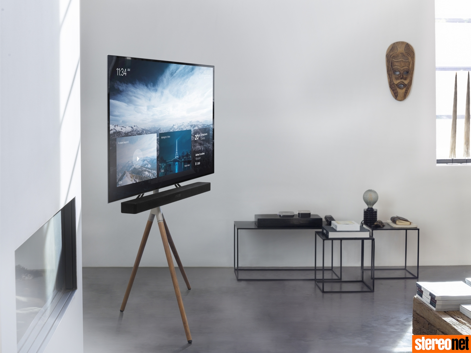 Stylish Tv Mounting Options Requiring No Professional Installation Stereonet Australia Hi Fi Home Cinema News