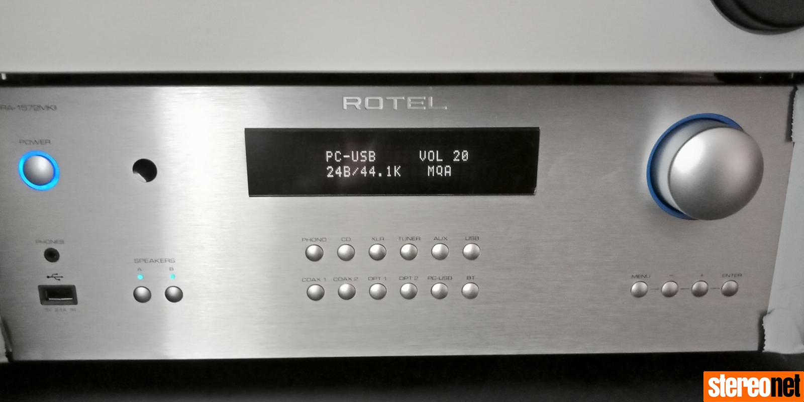 Rotel RA-1572 MKII Review