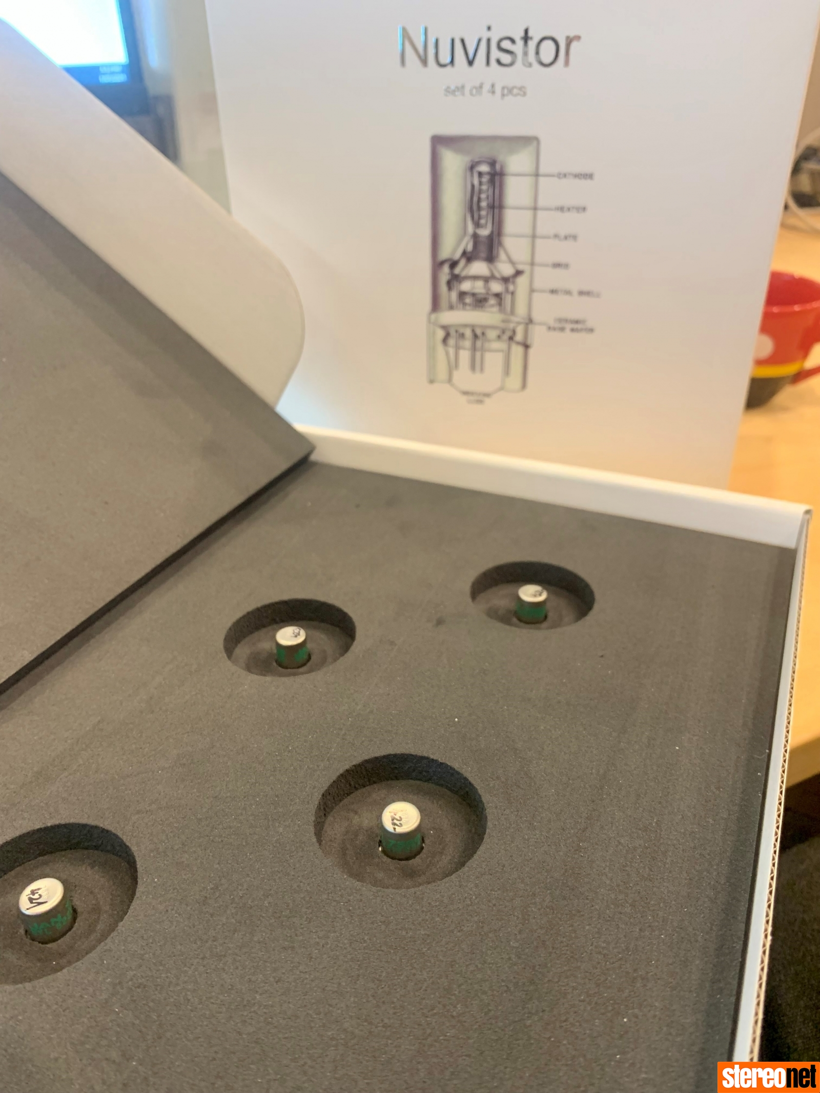 Musical Fidelity NuVistor Tube Set