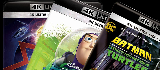 BUILD YOUR 4K ULTRA HD BLU-RAY COLLECTION WITH THESE OFFERS