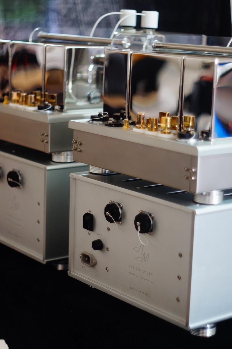 AM Audio 833S Mono Amplifiers