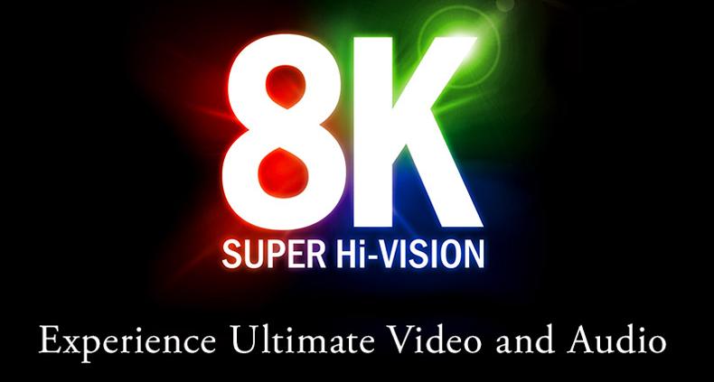 8K Broadcasts