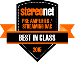 BEST IN CLASS 2015 - Digital Preamplifier with Streaming DAC