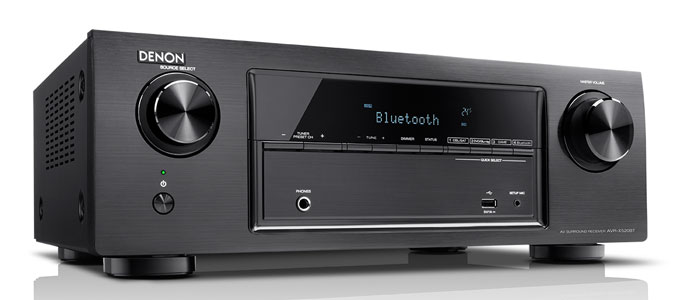 Denon Release AVR-X520BT Affordable 4K Ultra HD AV Receiver