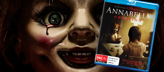 BLU-RAY REVIEW: ANNABELLE - CREATION