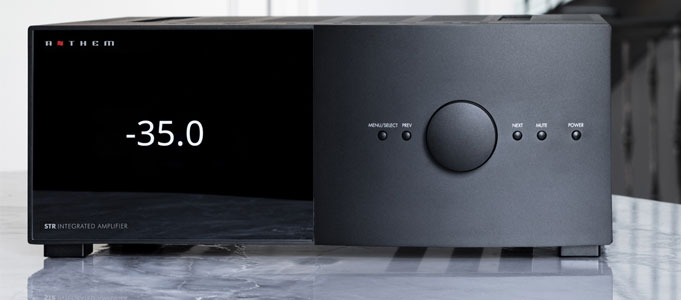 REVIEW: ANTHEM STR INTEGRATED AMPLIFIER