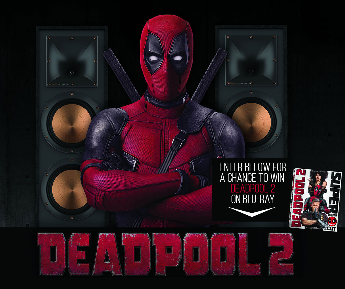 Win Deadpool 2 Klipsch Blu-ray