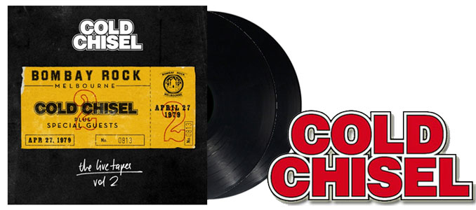 Cold Chisel 'The Live Tapes' Vol 2 on Vinyl