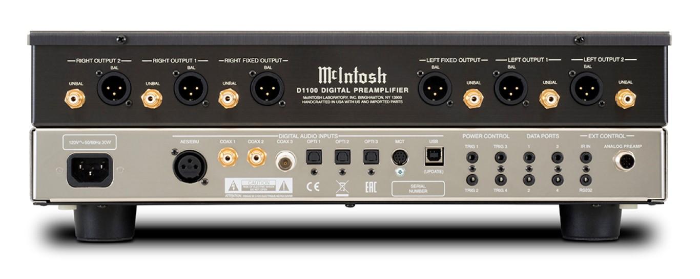 McIntosh D1100 Rear