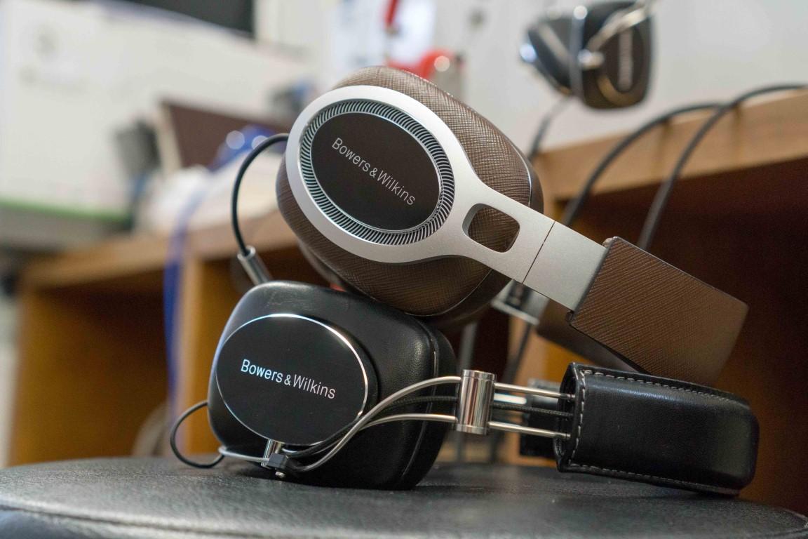 B&W P7 Headphones vs P9 Headphones