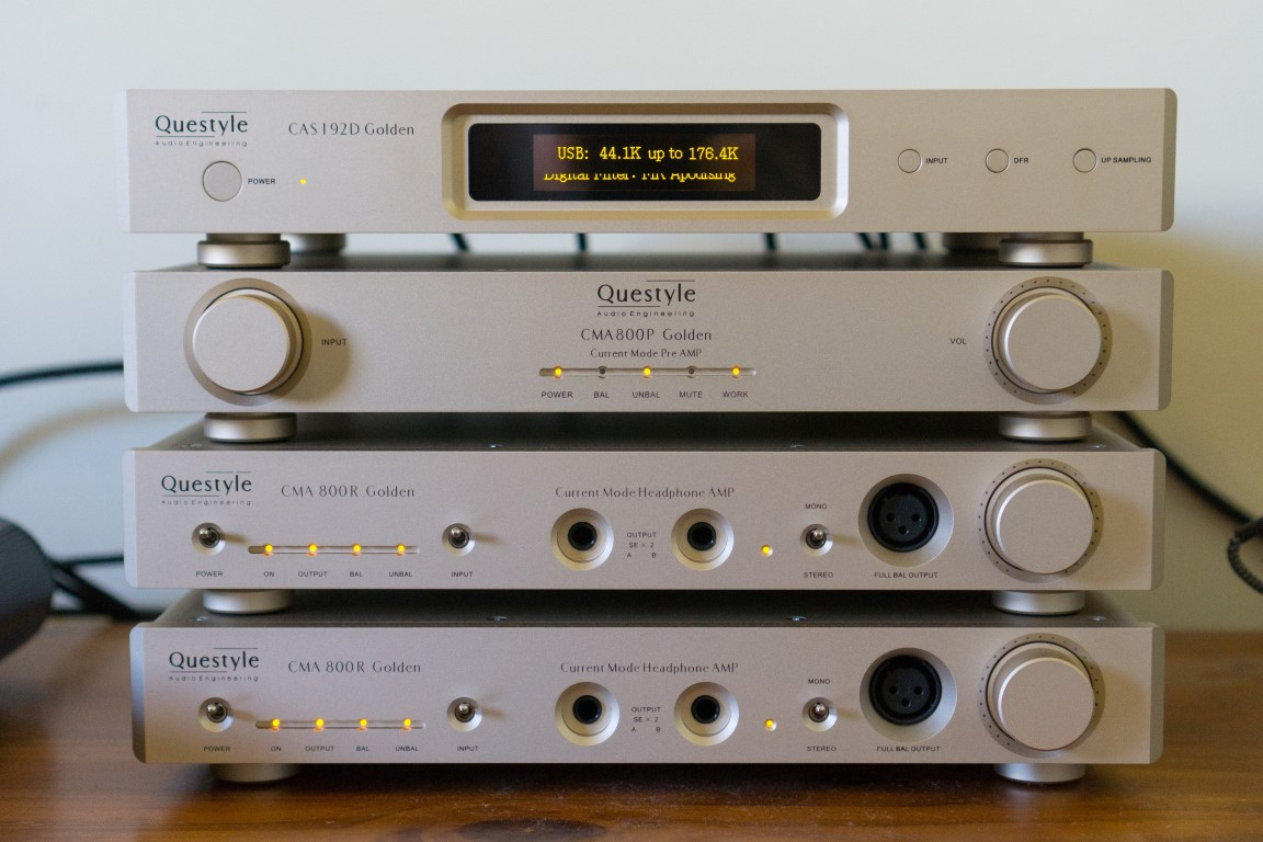 Questyle Audio Gold Stack Reference