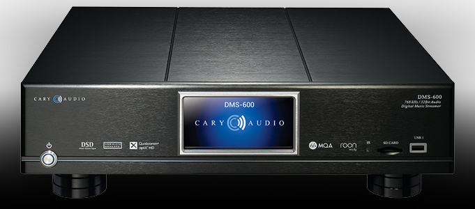 Cary Audio DMS-600 Network Audio Player Review