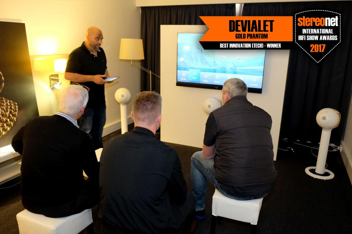 Devialet Gold Phantom - Best Tech Innovation